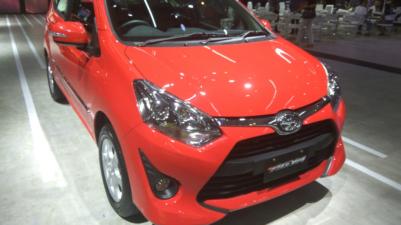 Toyota Agya 1 0L G M T
